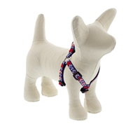 "Lupine 1/2"" America 12-18"" Step-in Harness - Small Dog LIMITED EDITION"