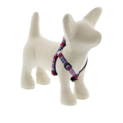 "Lupine 1/2"" America 12-18"" Step-in Harness - Small Dog MicroBatch"