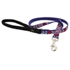 "Lupine 1/2"" America 6' Padded Handle Leash - Small Dog or Cat MicroBatch"