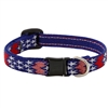 "Lupine 1/2"" America Cat Safety Collar"