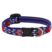"Lupine 1/2"" America Cat Safety Collar LIMITED EDITION"
