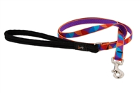 "Retired Lupine 1/2"" Aurora 6' Padded Handle Leash - Small Dog or Cat"