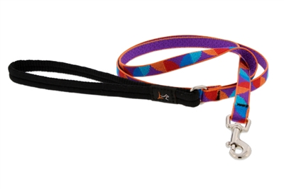"Retired LupinePet 1/2"" Aurora 6' Padded Handle Leash - Small Dog or Cat"