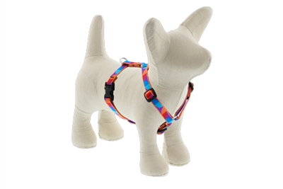 "Lupine Aurora 9-14"" Roman Harness - Small Dog LIMITED EDITION"