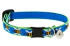 "Lupine 1/2"" Blue Bees Cat Safety Collar with Bell Ships in April 2021"