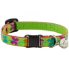 "Lupine 1/2"" Butterfly Cat Safety Collar with Bell"