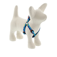 "Lupine 1/2"" Choo Choo 10-13"" Step-in Harness - Small Dog LIMITED EDITION"
