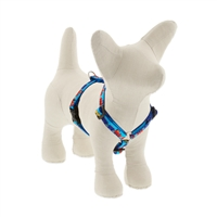 "Lupine 1/2"" Choo Choo 12-20"" Roman Harness - Small Dog LIMITED EDITION"