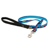 "Retired LupinePet 1/2"" Choo Choo 6' Padded Handle Leash - Small Dog or Cat MicroBatch"