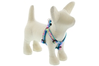 "Retired LupinePet 1/2"" Cottage Garden 10-13"" Step-in Harness - Small Dog"