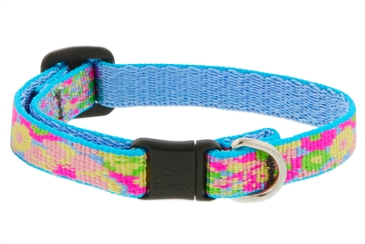 "Lupine 1/2"" Cottage Garden Safety Cat Collar MicroBatch"