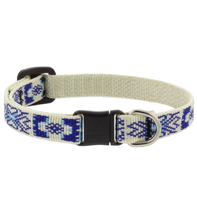 "LupinePet 1/2"" Fair Isle Safety Cat Collar MicroBatch"