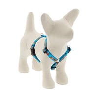 "Retired LupinePet 1/2"" Foxy Paws 9-14"" Roman Harness - Small Dog MicroBatch"