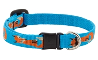 "Lupine 1/2"" Foxy Paws Cat Safety Collar MicroBatch"