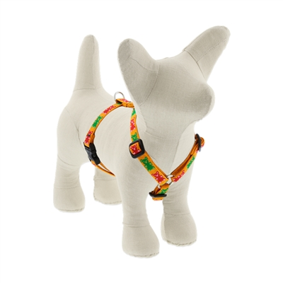 "LupinePet Jelly Bears 12-20"" Roman Harness - Small Dog MicroBatch"