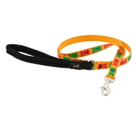 "Lupine 1/2"" Jelly Bears 6' Padded Handle Leash"