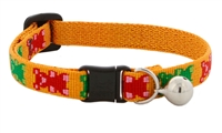 "Lupine 1/2"" Jelly Bears Cat Safety Collar with Bell"