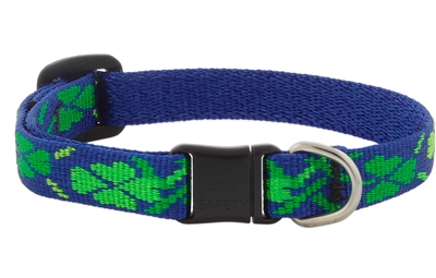 "Retired Lupine 1/2"" Lucky Safety Cat Collar MicroBatch"