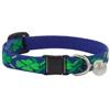 "Retired Lupine 1/2"" Lucky Cat Collar with Bell MicroBatch"
