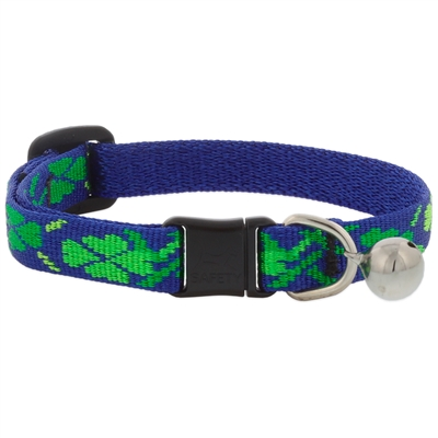 "Retired Lupine 1/2"" Lucky Cat Safety Collar with Bell"