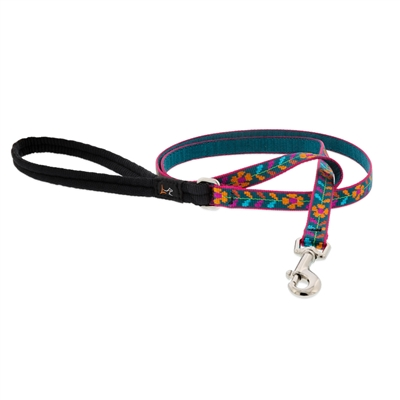 "Lupine 1/2"" Marigold 6' Padded Handle Leash MicroBatch"