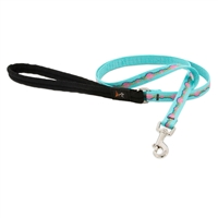 "Retired Lupine 1/2"" Necklace 6' Padded Handle Leash"