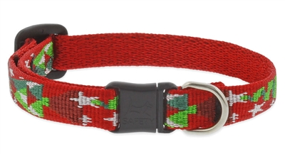 "Lupine 1/2"" Noel Cat Safety Collar"