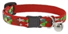 "Lupine 1/2"" Noel Cat Safety Collar with Bell"