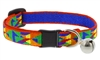"Lupine 1/2"" Origami Cat Safety Collar with Bell"