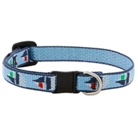 "Lupine 1/2"" Sail Away Cat Safety Collar LIMITED EDITION"