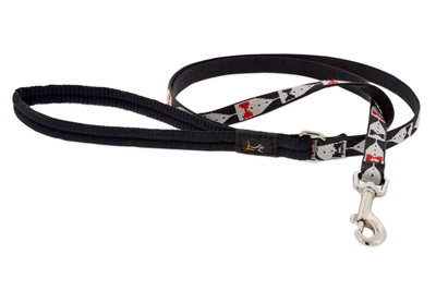 Lupine Tuxedo 6' Padded Handle Leash - Small Dog or Cat LIMITED EDITION