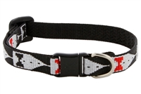 "Retired LupinePet 1/2"" Tuxedo Safety Cat Collar"