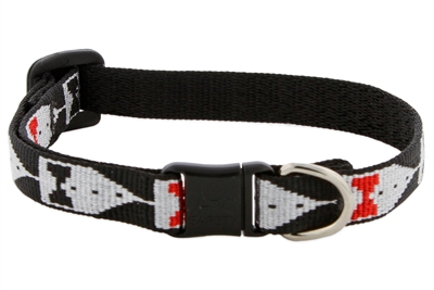 "Retired Lupine 1/2"" Tuxedo Safety Cat Collar"
