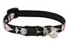 Lupine Tuxedo Cat Collar with Bell LIMITED EDITION