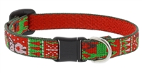 "Lupine 1/2"" Ugly Sweater Cat Safety Collar"