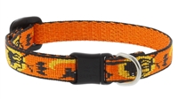 "Retired Lupine 1/2"" Wicked Cat Safety Collar"