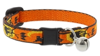 "Retired Lupine 1/2"" Wicked Cat Safety Collar with Bell"