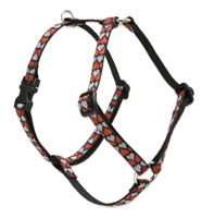 "Retired Lupine Love Struck 12-20"" Roman Harness - Small Dog"