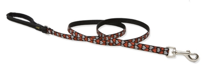 Lupine Retired Love Struck 6' Padded Handle Leash