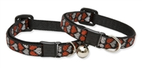 "Retired Lupine 1/2"" Love Struck Cat Safety Collar"