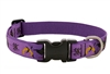"Lupine 1"" Haunted House 12-20"" Adjustable Collar - Large Dog MicroBatch"