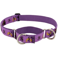 "Lupine 1"" Haunted House 15-22"" Combo/Martingale Training Collar - Large Dog Micro Batch"