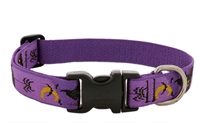 "Lupine 1"" Haunted House 16-28"" Adjustable Collar - Large Dog Micro Batch"