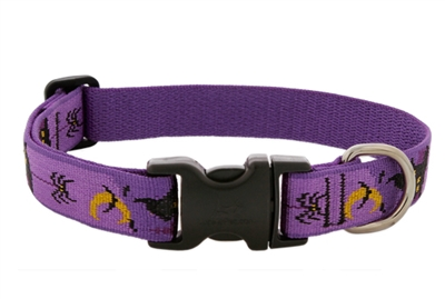 "Retired Lupine 1"" Haunted House 16-28"" Adjustable Collar - MicroBatch"