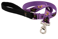 "Lupine 1"" Haunted House 6' Long Padded Handle Leash - Large Dog Micro Batch"