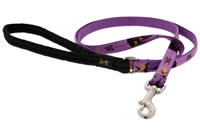 "Lupine 1/2"" Haunted House 6' Padded Handle Leash - Small Dog or Cat Micro Batch"