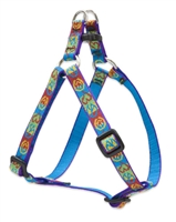 "Retired Lupine Peace Pup 12-18"" Step-in Harness - Small Dog"