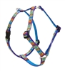 "Retired Lupine Peace Pup 12-20"" Roman Harness - Small Dog"