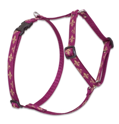 "Lupine Retired Royal Gold 9-14"" Roman Harness"