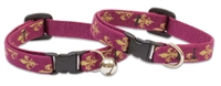 "Retired Lupine 1/2"" Royal Gold Cat Safety Collar with Bell"